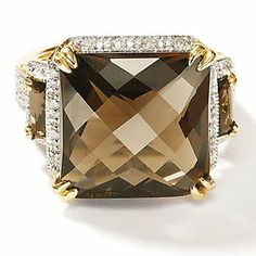 Brown Solitaire Diamond
