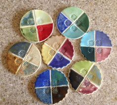 Art Jewelry Elements: The Root of My Addiction... Glaze test tiles