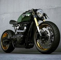 triumph cafe racer #motorcycle #motorbike