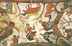 07.1 Panteon de San Isidoro de León y detalle del Anuncio a los pastores