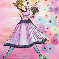 Walking In Love - Ephesians 5:1-2 Paper Doll Series Artist : Michelle Bentham (c) 2017.