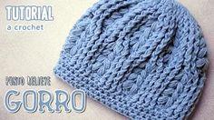 gorras tejidas a crochet - YouTube