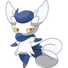 Pokémon X & Y - New Pokémon Meowstic female!