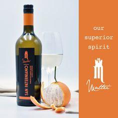SAN PATERNIANO... our superior spirit! Label, Spirit, San, Drinks, Bottle, Food, Drinking, Beverages, Flask