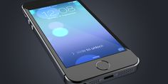 iPhone 5S Perspective PSD