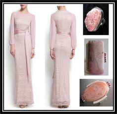 Elegancia y sencillez, un acierto seguro: Sortijas de Harmony Design  complementan el vestido de Mango // Harmony Design Rings in Pink by joyeria-harmony.com