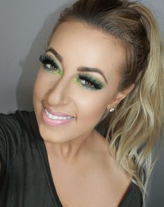 41 Looks: Makeup for St Patricks Day > CherryCherryBeauty.com  [hair.makeupbyamandazack / Instagram]