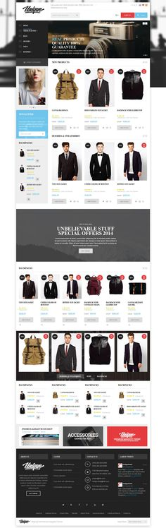 Unique - Responsive Magento Theme | Live Preview and Download: http://themeforest.net/item/unique-responsive-magento-theme/7940529?WT.ac=category_thumb&WT.z_author=MeigeeTeam&ref=ksioks