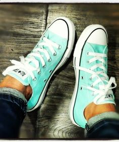 All star mint sneakers shoes