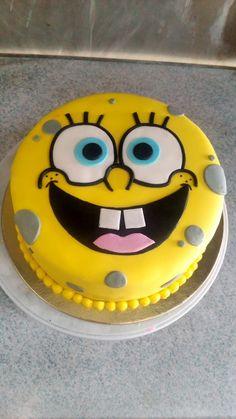 Spongebob cake Spongebob Birthday Party, Birthday Cake Girls, Ocean Cakes, Pastel Cakes, Holiday Cakes, Cakes For Boys, Girl Cakes, No Bake Cake, Cake Designs