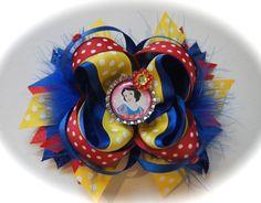 Snow White Disney Princess Hair Bow