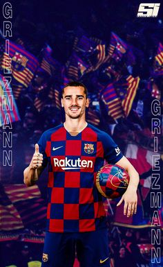 Oficial Antoine Griezmann a semnat un contract pe 5 sezoane cu FC Barcelona ❤ Fc Barcelona, Barcelona Players, Barcelona Football, Antoine Griezmann, Messi Champions League, Messi Soccer, Basketball, Cristiano Ronaldo Juventus, Best Club