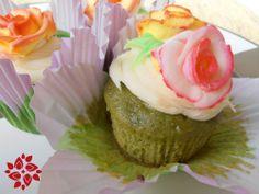 Green Tea Matcha cupcakes  http://www.teasontheloose.com/tea-adventure/green-tea/matcha-cupcakes-cooking-green-tea/