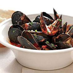 Mussels and Spicy Broth