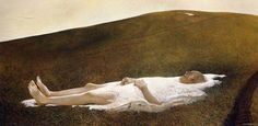 Spring, 1978. By Andrew Wyeth.