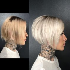 Latest Bob Haircut Images in 2020 Short Stacked Bob Haircuts, Short Stacked Bobs, Stacked Bob Hairstyles, Bob Hairstyles For Fine Hair, Short Hairstyles For Women, Short Bobs, Layered Haircuts, Angled Bobs, Brown Hairstyles