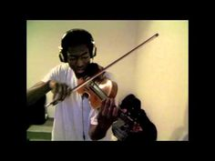 """Eric Stanley """"Love the way you lie Part 2 - Eminem""""  (Violin Cover)"""
