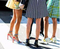 m8 coolhunter: ¿Qué zapatos llevan las fashion insiders cuando se...
