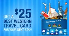 free $25 Gift Card from Best Western Travel