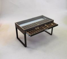 Printers Tray Coffee Table