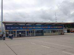 Il benvenuto all'Aeroporto di Klagenfurt