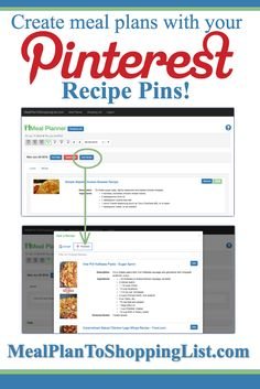 free online meal planner