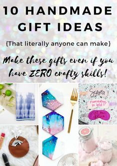 10 DIY Handmade Gift Ideas that Anyone Can Make – Really!
