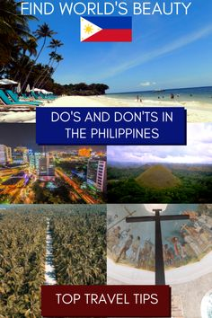 The do's and don'ts in the Philippines – how to experience the Philippines like a local - Find World's Beauty China Travel, Bali Travel, India Travel, Japan Travel, Travel Advice, Travel Tips, Travel Log, Travel Goals, Budget Travel