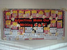 Popcorn Time...with an Adjective Lesson on the Side!