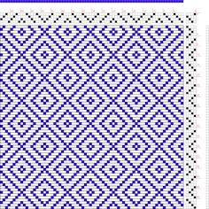 draft image: Figure 649, A Handbook of Weaves by G. H. Oelsner, 4S, 4T
