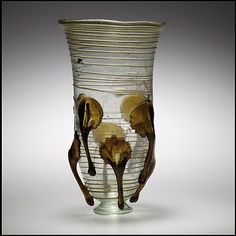 Glass Claw Beaker  Date: 5th–6th century Culture: Frankish Medium: Glass