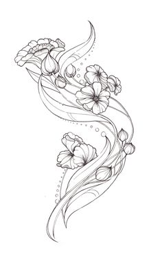 Art Nouveau Tattoo design by Tegan-Ray on DeviantArt