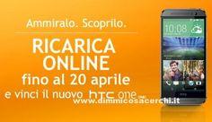 Ricarica Wind e vinci telefoni HTC - DimmiCosaCerchi.it