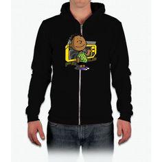 My Name's Franklin Snoopy California Fleece Zip Hoodie