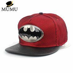 2015 Fashion Summer Brand Batman Baseball Cap Hat For Men Women Casual Bone  Hip Hop Snapback Caps adjustable 68fd1238fb8