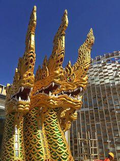Thailand's Pavilion designed by - Alex Yogoro to Expo Milan 2015.
