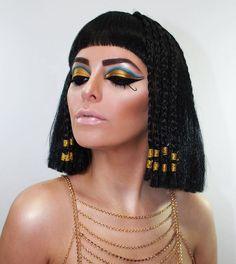 Cleopatra schminken eignet sich sowohl für besondere Partys, als auch teilweise für den Alltag. Inspirieren Sie sich von unserer Bildergalerie.