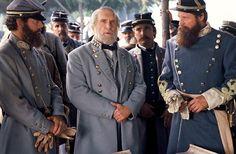 Robert Duval in Gods and Generals Civil War Movies, Civil War Art, Gods And Generals, Warner Bros Movies, Robert Duvall, Civil War Photos, Western Movies, Gettysburg, American Civil War