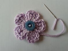 José Crochet: Tutorial flower - bloem