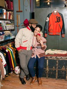 @refinery29 Double Vision: Ouigi Theodore, owner, The Brooklyn Circus and Gigi Gray, writer, The Brooklyn Circus blog