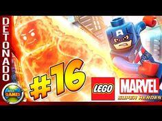 LEGO Marvel Super Heroes Parte #16 Detenção Ruiva Walkthrough