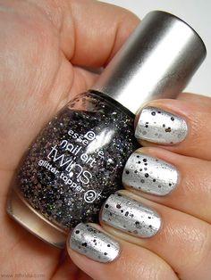 Glitter topper
