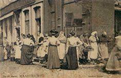 Markt in Maastricht 1900