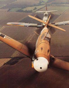 "Supermarine Spitifire ""X"" Messerschmitt 109"