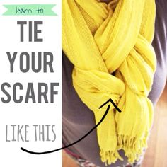 Simplicity and function--that's what a scarf is all about. It may look like a simple fashion accessory to you but it actually comes with a myriad of uses n