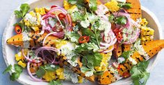 These vibrant autumn salads will add colour to your table.
