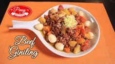 Beef Giniling Gisado Pinoy Recipe : Howto cook Beef Giniling Gisado | Pi...
