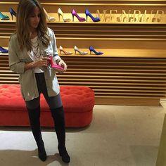 Evento Personal Shopper Campaña otoño/invierno 2015 en Málaga  Zapatos, bolsos y muchas risas en Menbur  ❤️ Buenas noches bonitos!