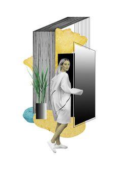 Fashion Collages \ Katia Kozyreva 2018 on Behance Collage Illustration, Collage Art, Illustrations, Architecture Concept Diagram, Fashion Background, Flower Phone Wallpaper, Fashion Collage, Pop Design, Fashion Design Sketches