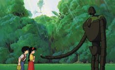 Castle in The Sky (天空の城ラピュタ, Tenkū no Shiro Rapyuta), by Hayao Miyazaki (1986)